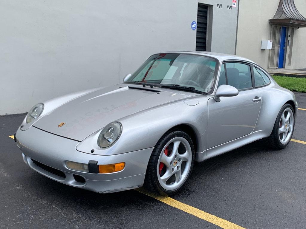 Low Mileage 1997 Porsche 993 C4S Front
