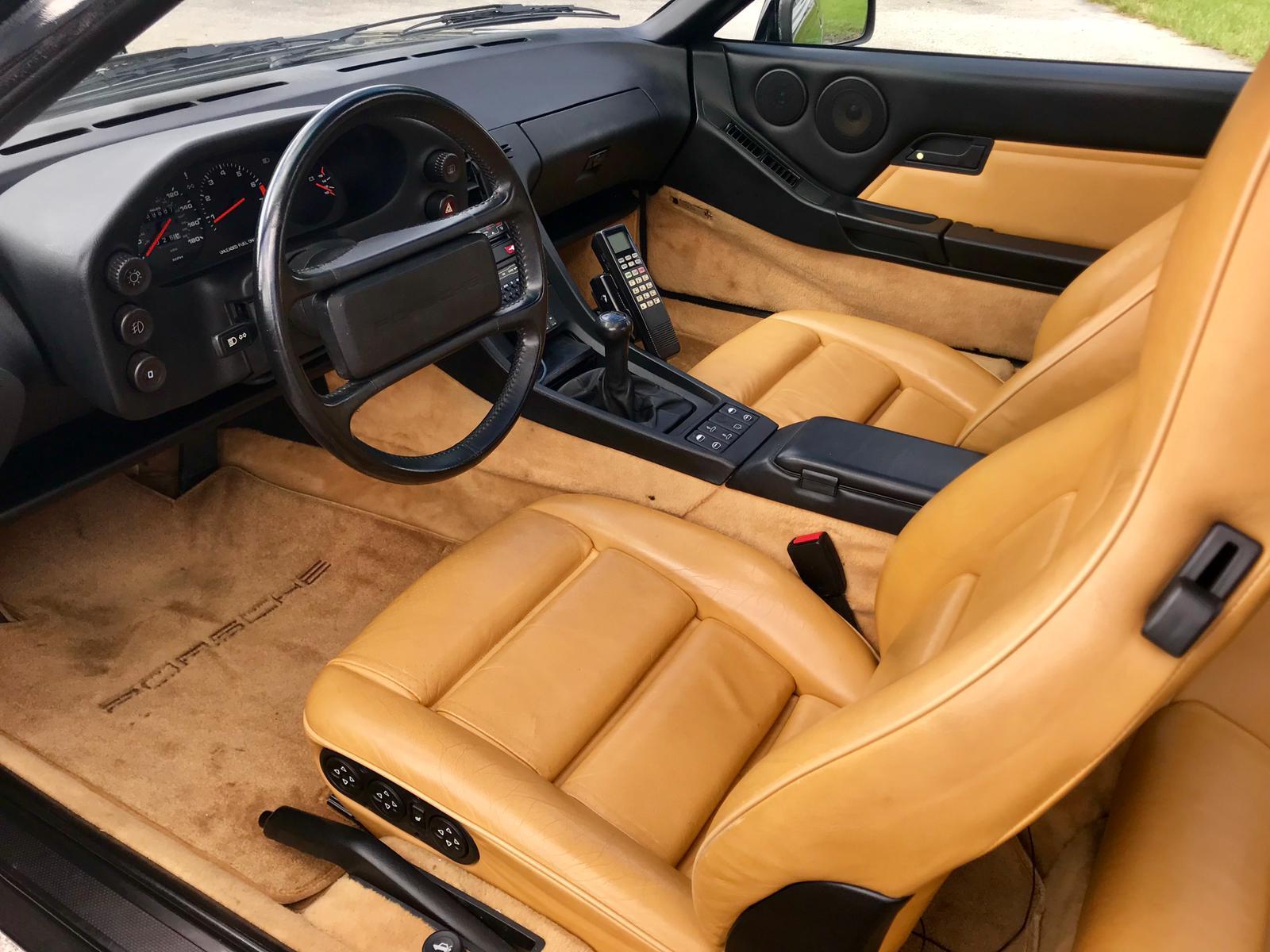 One Owner 1988 Porsche 928 S4 Interior